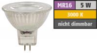 6er Set / LED Decken Einbauleuchten / 3Watt / 230V / Reflektor COB / EEK A+ / Gu10 / Schwenkbar 45°