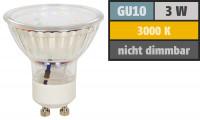 4 x Deckenstrahler MIA 12Volt Leuchten + 3W=25W Power LED + 15W LED Trafo. Drehbar und schwenkbar.