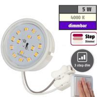 LED-Modul, 5Watt, 400 Lumen, 230Volt, Step dimmbar, Neutralweiss, 4000Kelvin