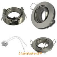 Flacher SMD LED Einbaustrahler Jan / 220Volt / 5Watt / DIMMBAR / ET=32mm