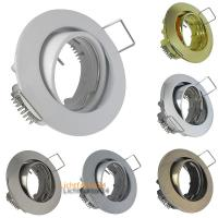 2er Set = MCOB LED Einbaustrahler Mia / 3W - 5W oder 7Watt / 230Volt / Alu gebürstet