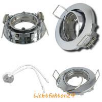 Kleiner Einbauspot Nico 12V. Für 35mm Leuchtmittel GU4 / Schenkbar / Alu / Rostfrei / Fassung MR16
