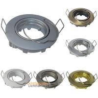 10er Set = LED Einbaustrahler Sandy / 3W - 5W oder 7Watt / 230Volt / Aluminium / Drehbar / EEK A+