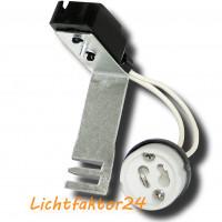 10 x Keramik Leuchtmittelfassung 230Volt für Gu10 Halogen oder LED Lampen