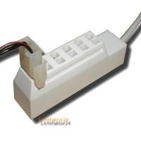 AMP Verteiler / Kupplung für AMP Stecker. Spannung 12Volt - 6 Steckplätze.