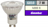 8er Set = LED Einbaustrahler Sandy / 3W - 5W oder 7Watt / 230Volt / Aluminium / Drehbar / EEK A+