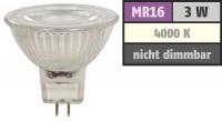 3er Set = LED Einbaustrahler Timo / DIMMBAR / 230Volt / 7W / 450Lumen