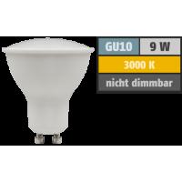 9 Watt LED Einbaustrahler Dario | 900 Lumen | 230Volt | Gu10 Fassung | IP20
