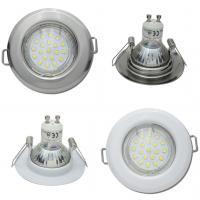 SMD LED Einbaustrahler Tom / 230V / 7W=60W / 470 Lumen / Silber oder Weiss