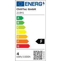 10er Set = Einbaustrahler Tomas / LED Leuchtmittel 230Volt / 3W - 5W oder 7Watt / 45° Schwenkbar / Stahl