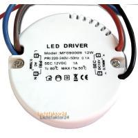 Flache 5W LED Bad Einbauleuchte Marina 230V / IP44 / COB LED Modul