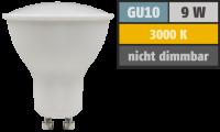 SMD LED Einbaustrahler Tom   230Volt   9 Watt   900  Lumen   Silber
